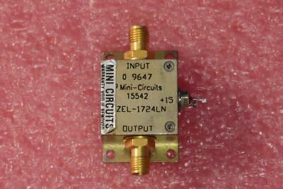 Mini-circuits Zel-1724ln 1700-2400mhz Sma Rf Low Noise Amplifier