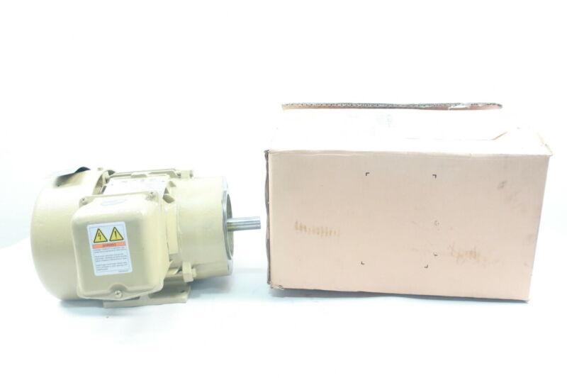 General Electric Ge 5KS143STE222 Motor 143tc 3ph 1hp 1750rpm 230/460v-ac