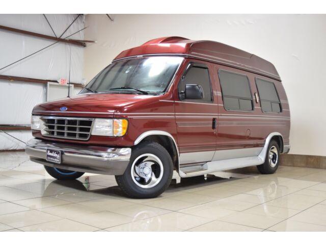 Imagen 1 de Ford E-series Van burgundy