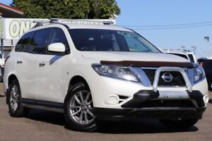 2015 Nissan Pathfinder R52 MY15 ST X-tronic 4WD N-TREK White 1 Speed Constant Variable Wagon