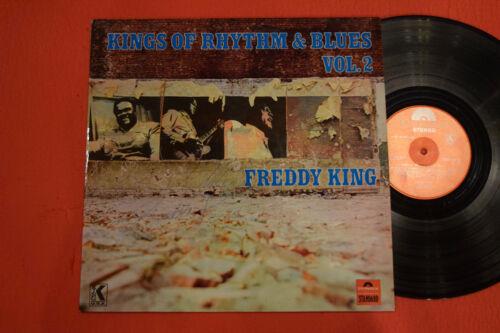 Freddie King Signed Autographed Record Album Kings of Rhythm & Blues Freddy Rare