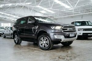 2017 Ford Everest UA 2018.00MY Trend Grey 6 Speed Sports Automatic SUV Moorabbin Kingston Area Preview