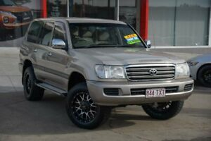 2004 Toyota Landcruiser UZJ100R GXL Gold 5 Speed Automatic Wagon Redcliffe Redcliffe Area Preview