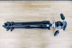Manfrotto 190XDB and 804RC2 head Camera Tripod South Yarra Stonnington Area Preview