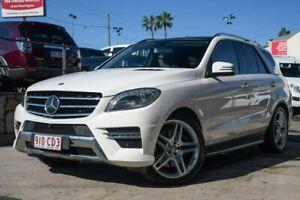 2014 Mercedes-Benz M-Class W166 ML500 7G-Tronic + White 7 Speed Sports Automatic Wagon