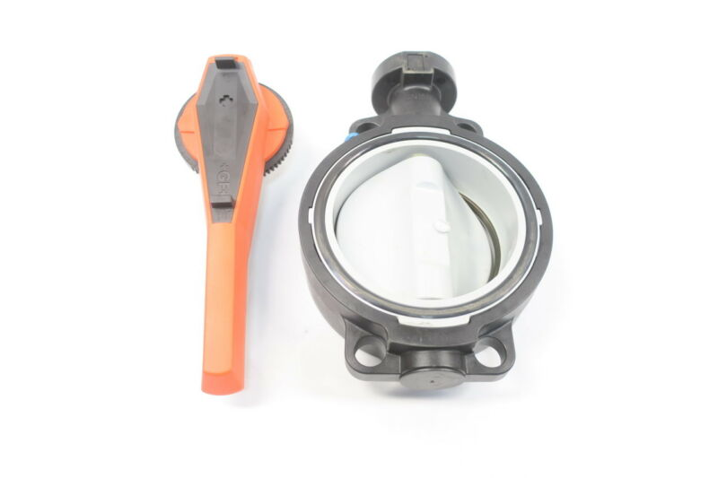 Georg Fischer TYPE 567 Manual Pvc Wafer 6in Butterfly Valve