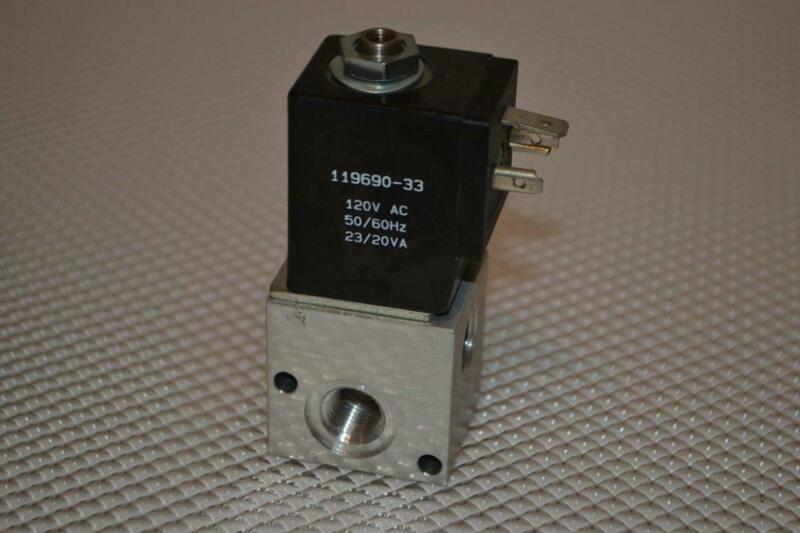 ONE NEW ARO/INGERSOLL-RAND SOLENOID AIR CONTROL VALVE  CAT77S-120-A-G.