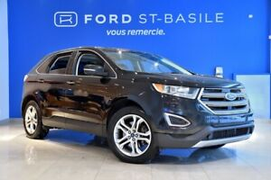 2015 Ford Edge Titanium AWD VERY CLEAN AND WELL EQUIPPED !
