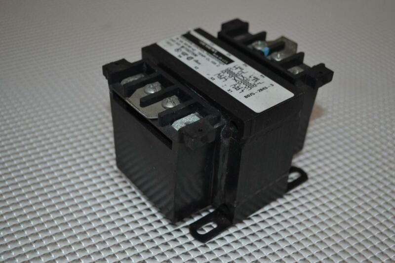 ONE USED SIEMENS INDUSTRIAL CONTROL TRANSFORMER MT0075M.