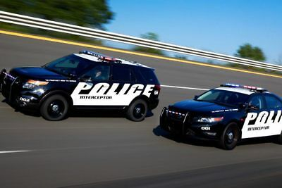 2021 Ford Police Utility Explorer Disguised Antenna Solution