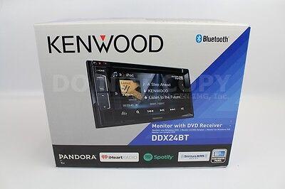 "Kenwood DDX24BT 2-DIN Car In-Dash Bluetooth DVD Receiver w/ 6.2"" LCD Touchscreen"