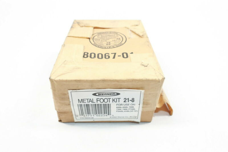 Werner 21-8 Metal Foot Kit