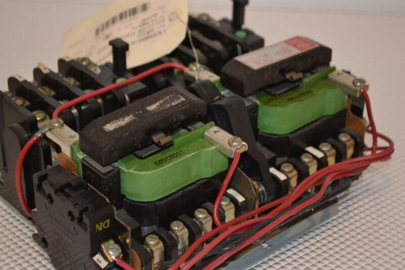 ONE NEW GENERAL ELECTRIC MAGNETIC TWO SPEED CONTROLLER CR209B000AKA.