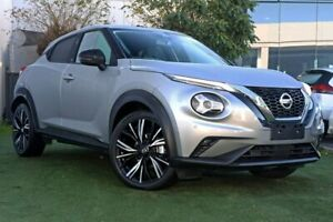 2020 Nissan Juke F16 Ti DCT 2WD Silver 7 Speed Sports Automatic Dual Clutch Hatchback Hoppers Crossing Wyndham Area Preview