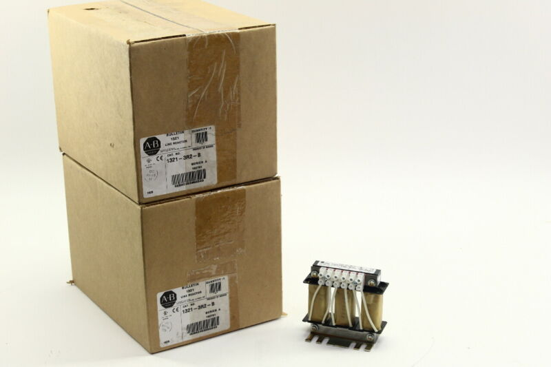 Allen Bradley Line Reactor 1321-3R2-B series A (lot of two)