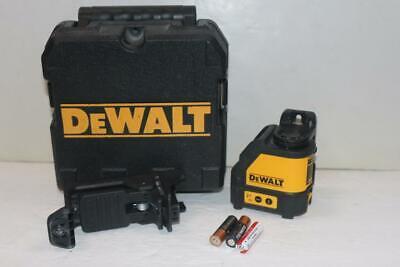 Dewalt Dg088 Red Self-leveling Cross-line Laser Level With Batteries Case