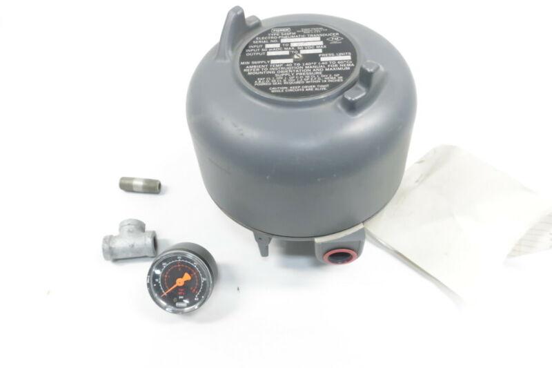 Fisher 546FM Electro-pneumatic Transducer 35psi 6-30v-dc