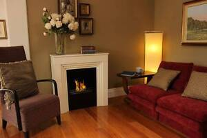 Ethanol Fireplace Vioflame Traditional Mantle White 10% sale NOW Erina Gosford Area Preview