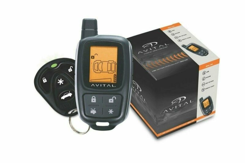 Avital 5305L, 2-Way Paging Vehicle Remote Start Security System Car Alarm