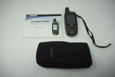 Garmin GPSMAP 60CSX Handheld GPS Receiver Unit Used Very Good Y047
