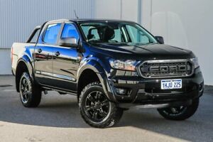 2021 Ford Ranger PX MkIII 2021.25MY XLS Shadow Black 6 Speed Sports Automatic Double Cab Pick Up