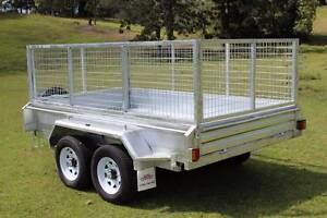 New Galvanised 10x6 Ozzi Tipping Trailer Gold Coast Molendinar Gold Coast City Preview