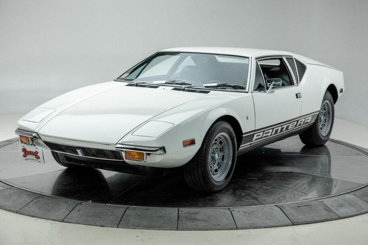 1971 De Tomaso Pantera  V8 351 Manual 5-Speed Coupe White