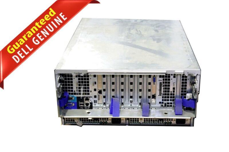 Dell PowerEdge 6850 Server Intel Xeon 4x SL8UM CPUs 8x 1GB Riser Board KJ730