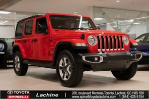 2018 Jeep Wrangler Unlimited Sahara IMPECCABLE! 4X4! FULLY EQUIP