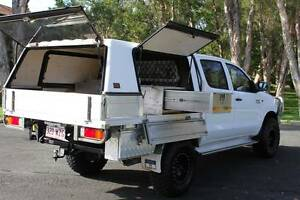 2012 Toyota Hilux Ute TURBO DIESEL TRAY BACK WITH WORK STATION Southport Gold Coast City Preview