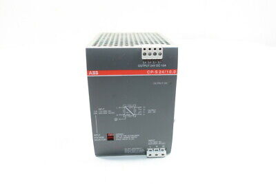 Abb Cp-s 2410.0 Switch Mode Power Supply 110-120v-ac 10a 24v-dc