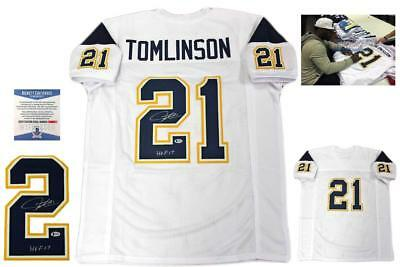 0d108518f03 Ladainian Tomlinson Autographed SIGNED Jersey - Beckett Authentic - White