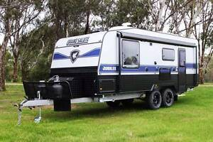 2016 Grand Salute Jubilee - 21' Off Road caravan, Ext Shwr, Solar Somerton Hume Area Preview