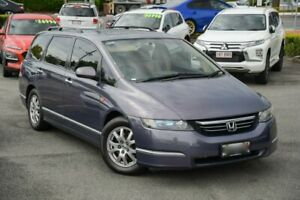 2005 Honda Odyssey 3rd Gen Luxury Purple 5 Speed Sports Automatic Wagon