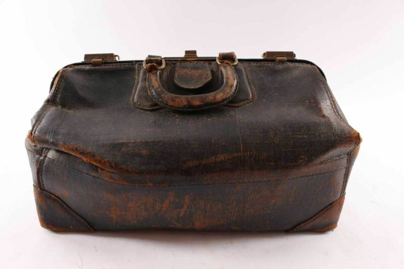 Antique Statler Leather Doctor Bag