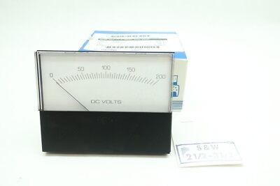 Yokogawa 260-420-rlrl Voltmeter 0-200 Dc Volts