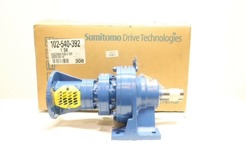 Sumitomo CNHJS-6125TBY-53621 Inline Gear Reducer 1750rpm 0.134hp 53621:1
