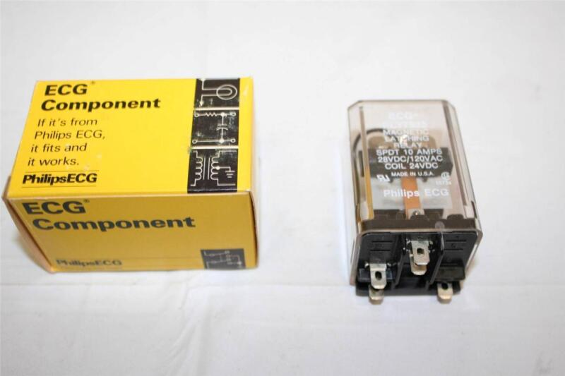 ECG Relay RLY7923 SPDT 10A 24VDC Magnetic Latching Relay New