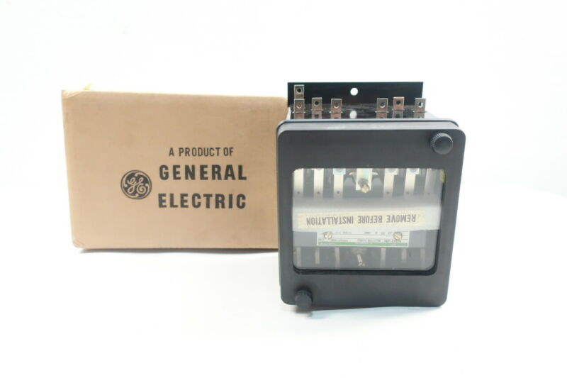 General Electric Ge 12HFA151A2H Auxiliary Relay 125v-dc