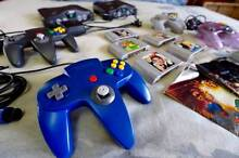 Nintendo 64 Pack: 2 Consoles, 5 Games, 4 Controllers, 1 Expansion Arana Hills Brisbane North West Preview