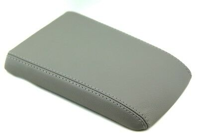 Armrest Center Console Cover Synthetic Leather for 04-09 Cadillac SRX Gray