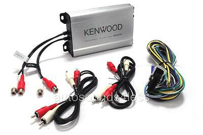 Kenwood KAC-M1804 400 Watts 4-Channel Class D Digital Car Audio Amplifier New