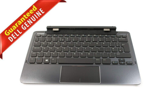 NEW Dell Venue 11 Pro 5130 7130 7140 D1R74 Tablet Docking Station Keyboard 0D1R7
