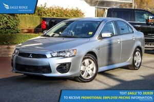 2016 Mitsubishi Lancer ES FWD, Hands Free Calling, CD Player
