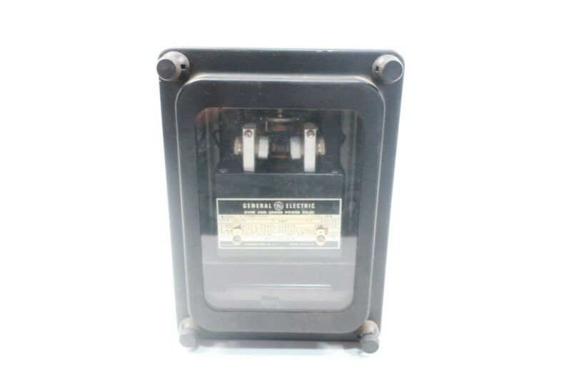 General Electric Ge 12CFW11E4A Over And Under Power Relay 5a 115v-ac