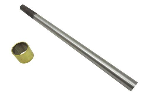 """Narex Cabinet Scraper Burnisher Kit with 3/8"""" Rod, Brass Ferrule"""