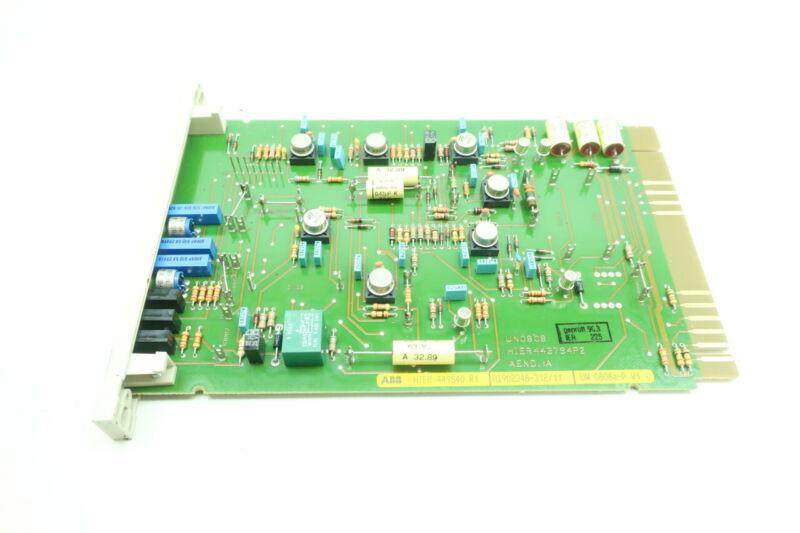 Abb UN 0808A-P HIER449840-R1 Analog Regulator Pcb Circuit Board