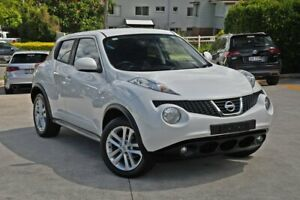 2013 Nissan Juke F15 MY14 ST 2WD White 1 Speed Constant Variable Hatchback