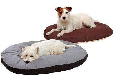 Doc Bed oval Hundekissen Hundebett Einlage Hundekörbchen waschbar 95C°