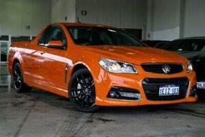 2013 Holden Ute VF MY14 SS V Ute Redline Orange 6 Speed Sports Automatic Utility